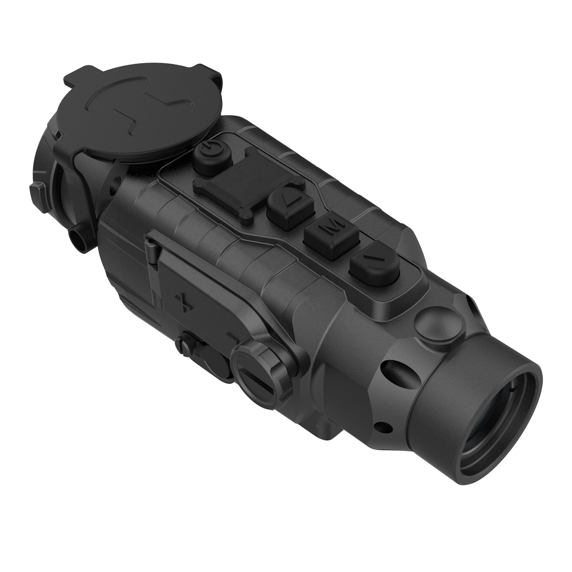 Termal gece kapsamı kızılötesi gece görüş dürbün uzun mesafe avcılık lazer sight, termal telemetre kızılötesi gece görüş