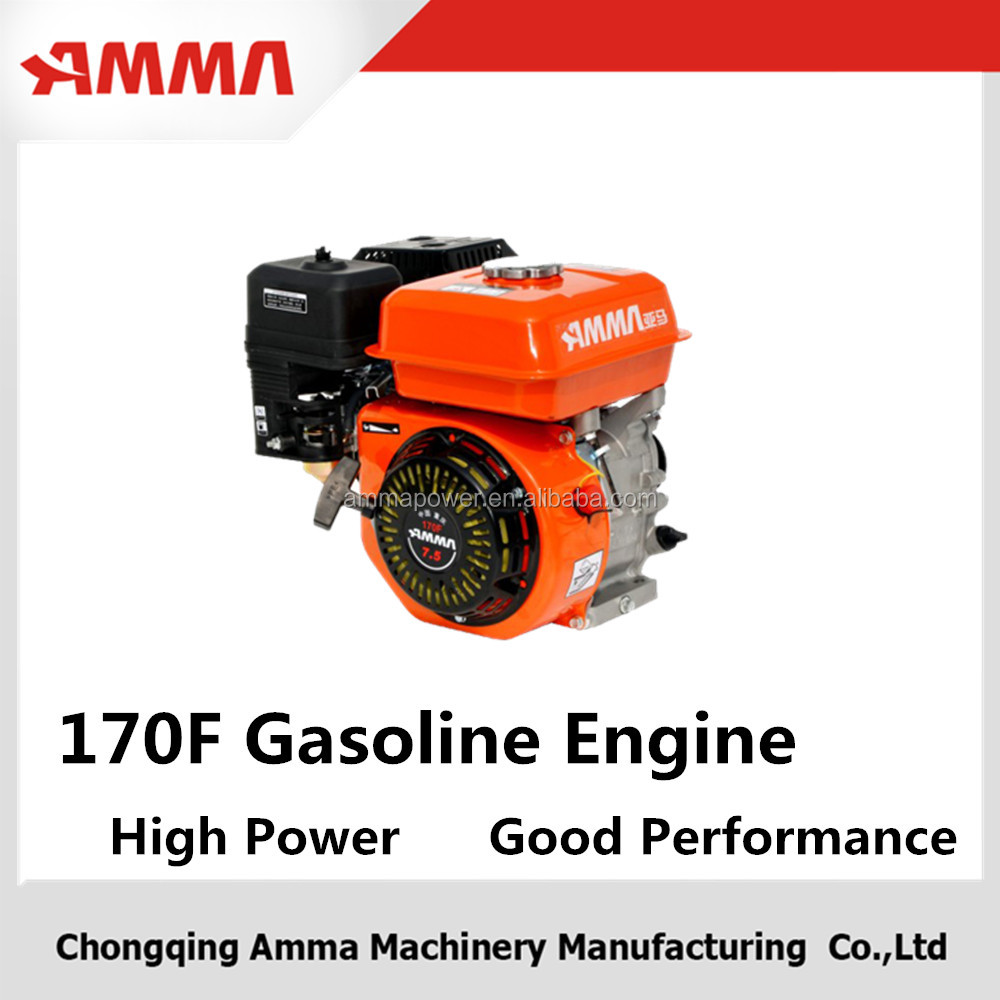 Factory in china design small engine with gearbox
