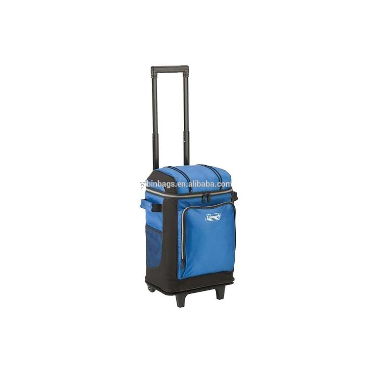World best selling products 42-Can Wheeled Soft Cooler Bag With Hard Liner aluminium insulated bag