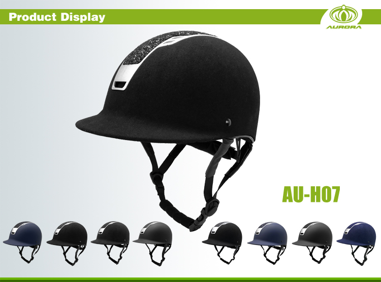 China Equestrian Manufacturer Horse Riding Helmet Sale 11