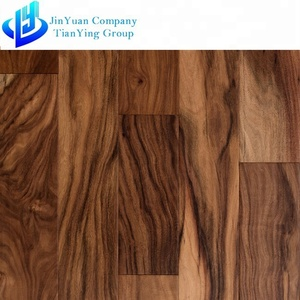 Indoor moisture proof solid SPC oak wood flooring