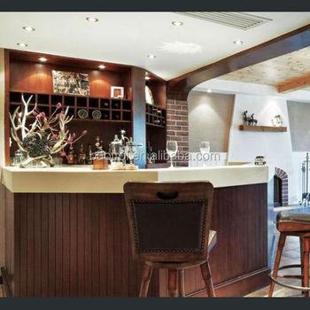 Estilo Clássico Projeto Balcões De Bares Móveis Bar/madeira Mini Móveis Bar/café  Balcões