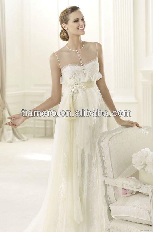 Sexy Real Designer taiwan wedding dresses images manufacture XK-0103