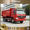 Self-loading dump garbages trucks/standard garbage box volume 13.3L 6*4 266hp