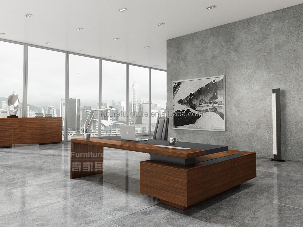 2016 office funiture table executive ceo office desk top for High end furniture stores nyc