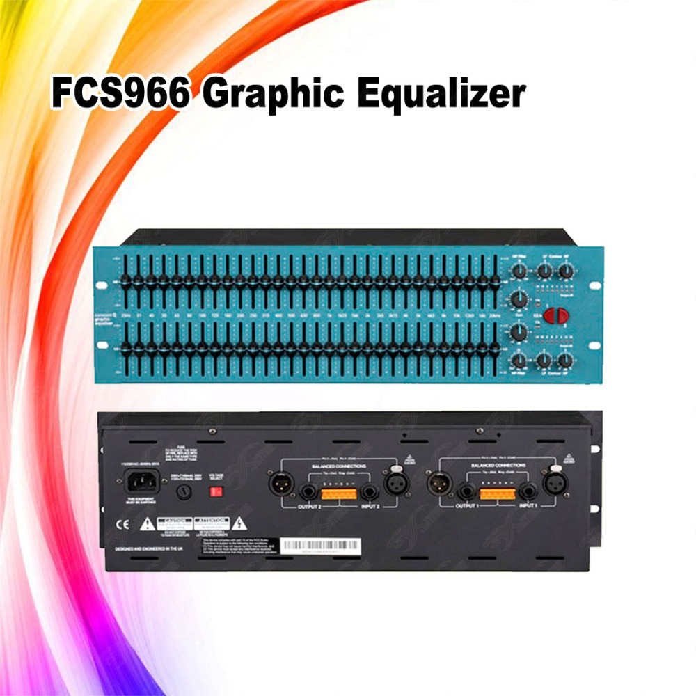 966 Dual 30 Band Equalizergraphic Equalizeronline Equalizer Buy Audio Graphic Product On