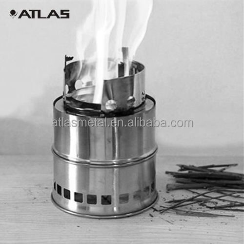Stainless Steel Custom Portable Wood Burning Stove Custom Made Charcoal