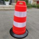 Highly Visible 36Inch Orange Plastic Traffic Safety Traffic Barrel with Rubber Base