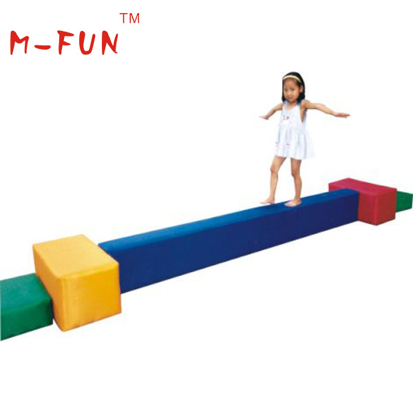 High Quality Indoor Soft Play Foam Balance Beam For Toddlers