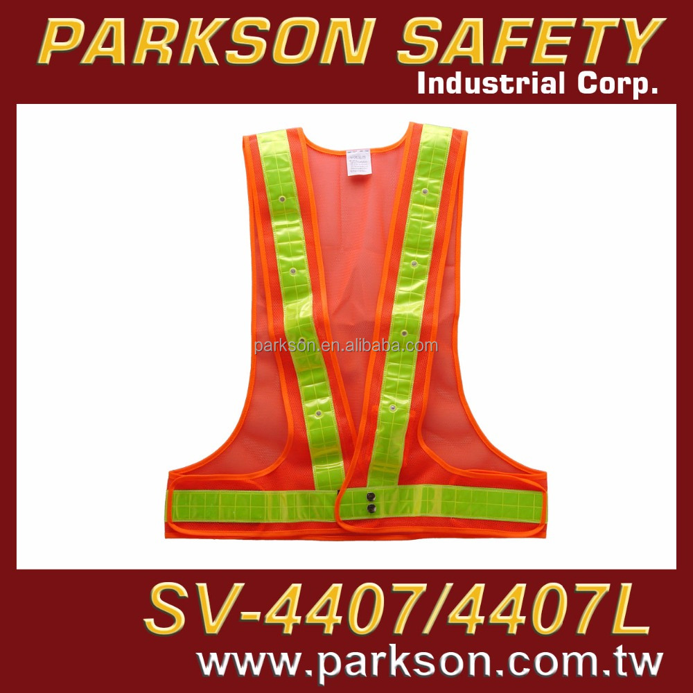 PARKSON SAFETY Taiwan Airport safety worker PPE Shooting Activities Available LED Light Whole Surrounding SV-4407L