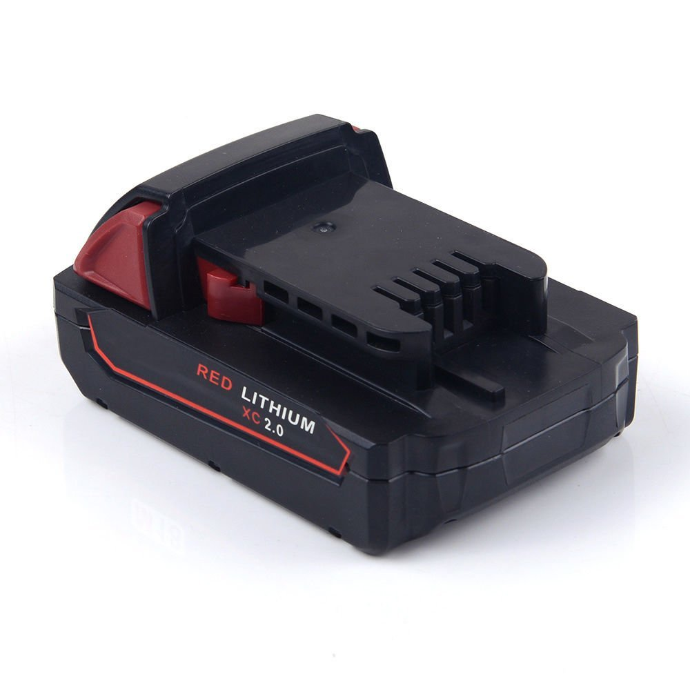 Replacement Battery for Milwaukee 48-11-1840 48-11-1811 M18 Battery 2000mAh 18V Red Lithium XC 18 Volt 2.0AH Cordless Power Tool