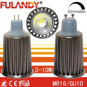 Shenzhen Manufacturer Led Mr16 Gu10 Cob 4w 8w 9w Led Bulb Light ...