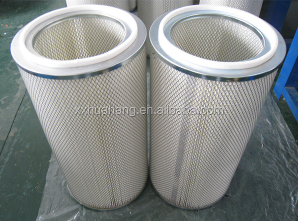 Industrial Filter Pleated Dust Collector Donaldson Cylindrical Air ...