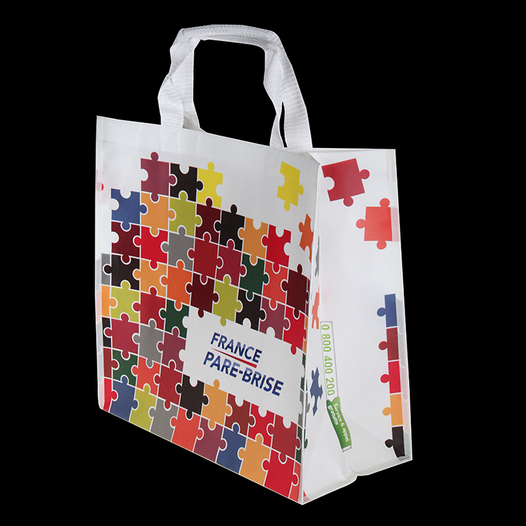 Eco Recycled Laminated Non Woven Tote Shopping Bag