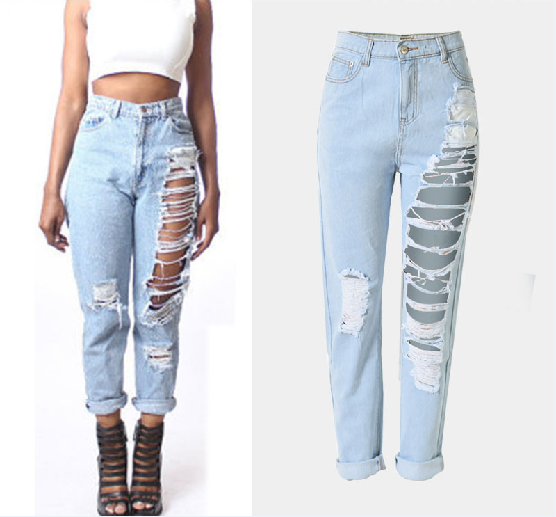 F20147a Latest Fashion Design Women Jeans Denim Jeans Pants With Hole For Ladies Buy Jeans Denim Jeans Ladies Jeans Top Design Latest Design Jeans Pants For Women Product On Alibaba Com
