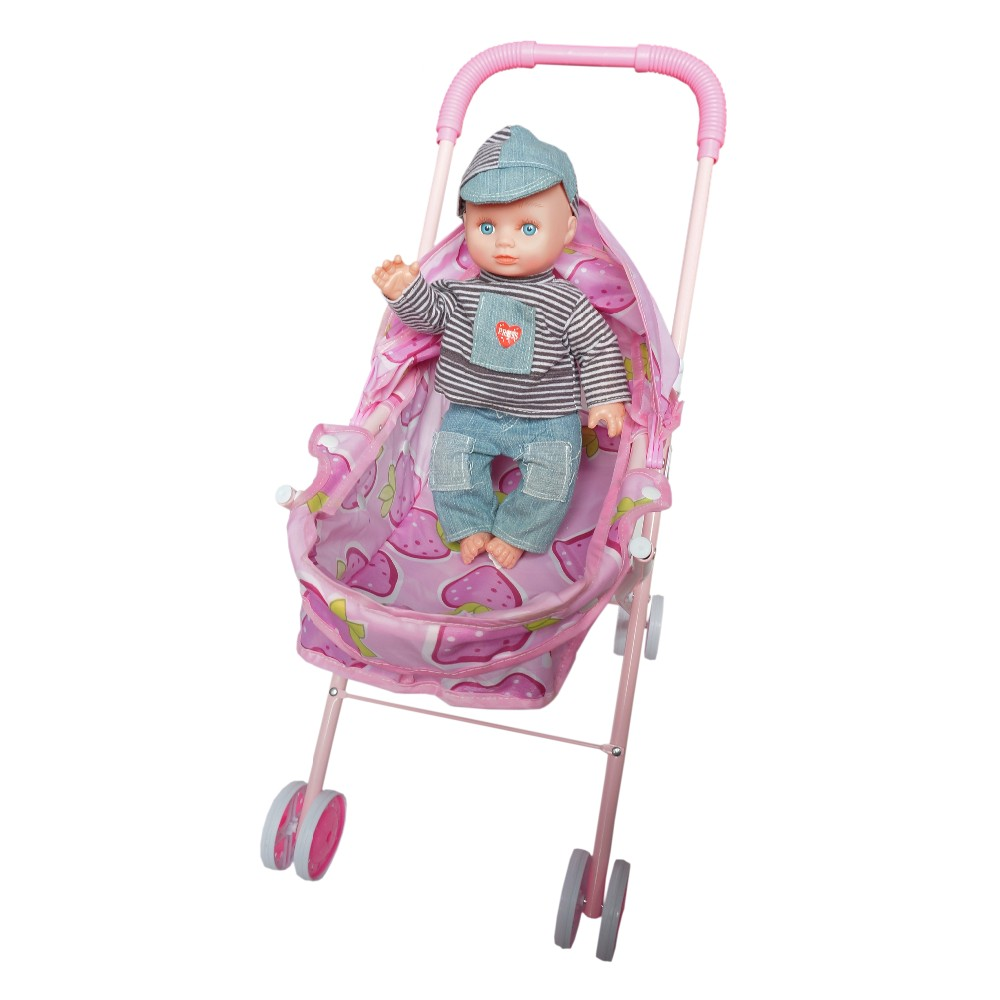 Hot cakes cheap Baby Doll Stroller With Car Seat