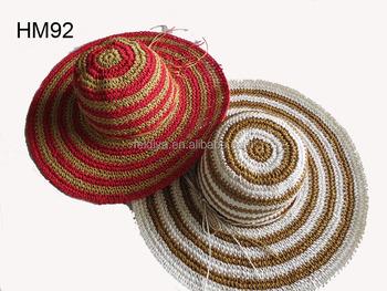 Dame Häkeln Papier Hutstrand Hutstrohhut Buy Papier Crochet Hut