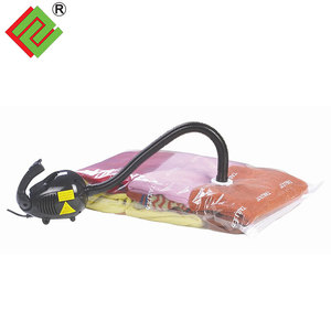 nylon+ PE vacuum storage bag for clothes and bedding