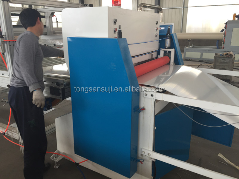 HIPS PMMA ABS Refrigerator plastic sheet making machine manufacturer price