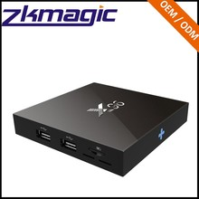 real tv box Amlogic s905x x96 digital tv converter set top box