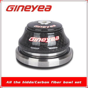 Carbon Bicycle Frame Part Headset Light for Taper Tube GINEYEA GH-592T