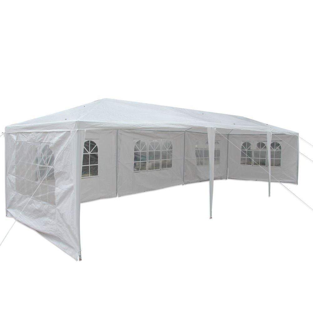 Lapha' US 10'x30' Foot Tent Party Wedding Yard, Garden & Outdoor Living Patio Canopy Heavy duty Gazebo Pavilion Event (White)