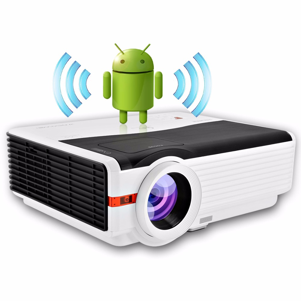 HD Video projector 5000 lumens led theater projectors built in DVB-T led video tv proyector
