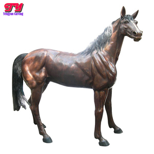 Best selling hot chinese products folk art large bronze horse sculpture famous with good after sale service