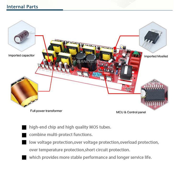Astounding Pure Sine Wave 1500W 3000W Micro Inverter 1500 Watt Power Inverter Wiring 101 Vieworaxxcnl