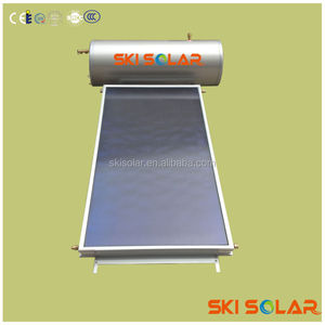 solar flat panel water heater system provide hot clean water