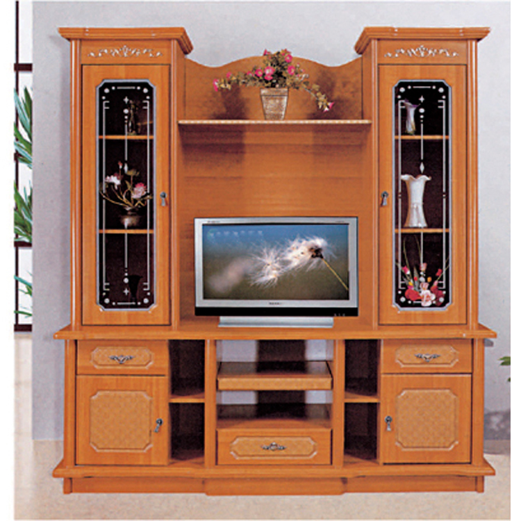Supplier wall unit with desk wall unit with desk for Tv stand showcase designs living room