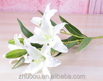 Artificial Easter Lily Flower Artificial Tiger Lily Bouquet With