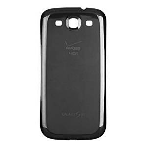 Original Genuine OEM Brand New Samsung Galaxy S3 S 3 4G LTE i535 i 535 R530 Rear Back Battery Door Cover - SAPPHIRE BLACK For VERIZON METRO PCS C-SPIRE