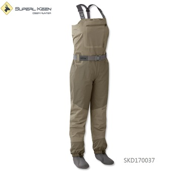 Fly Fishing Sonic Convertible Top Wader With Stocking Foot Breathable Waterproof