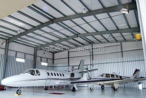 Steel hangar project for sale/the cost of building hangar