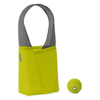 Super Convenient Flip Bags Solid Reusable Shopping Bag in Teal