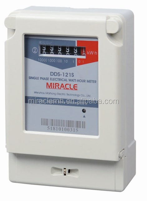 China Qualified Supplier Single Phase Meter Ac Power Watt Kwh ...