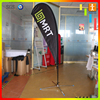 Factory price outdoor promotional full color printed custom beach flags teardrop sign