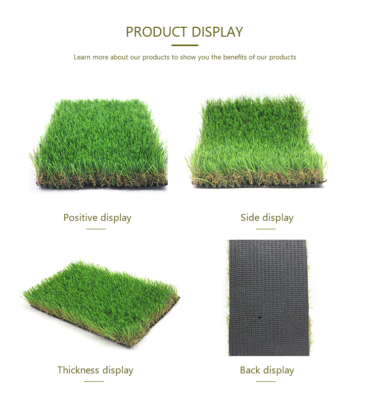 Factory wholesale synthetic grass turf landscape artificial grass for garden