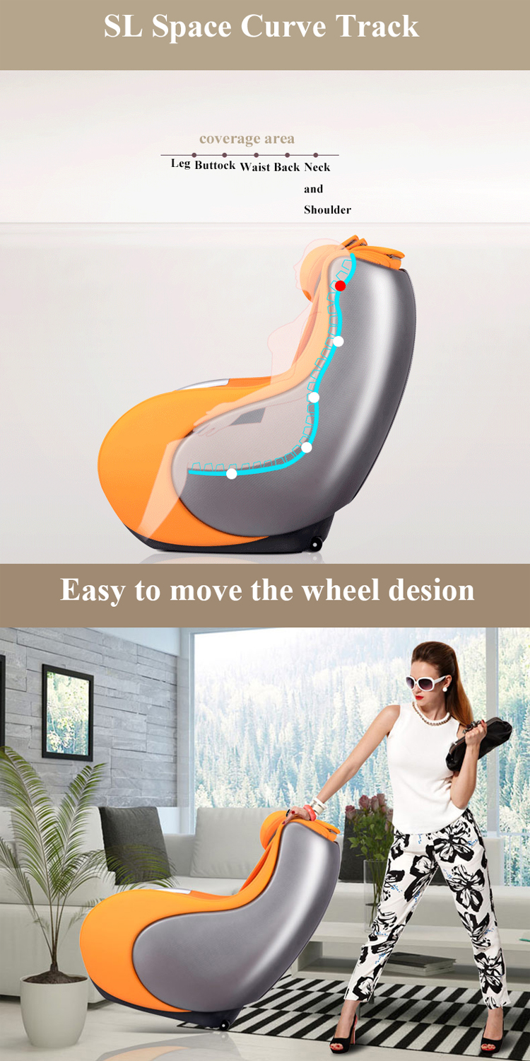 2017 Healthcare Electronic Music Massage Chair RT-155