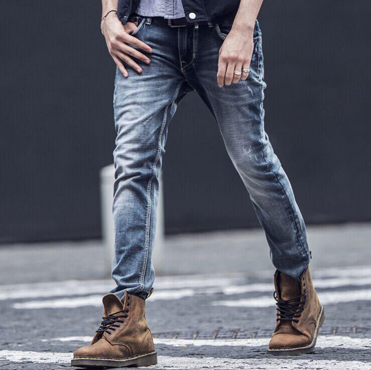 1cc8b8cf5 pantalones vaqueros lycra hombre