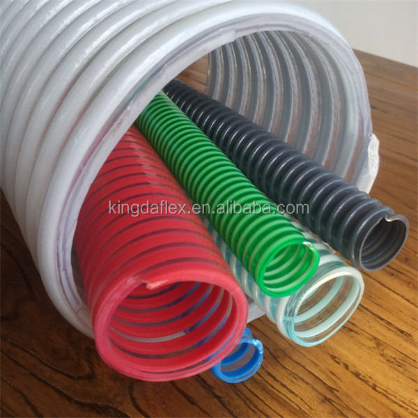 3 4 14 Inch Sprial Helix Corrugated Clear Pvc Suction