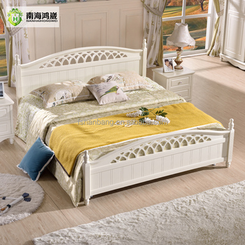 China Foshan Home Furnishing Modern White Painted Bedroom Furniture Set Designs King Queen Double Single Size Mdf Wood Bed Frame Buy Mdf Bed Mdf Wood Bed Designs Mdf Bed Frame Product On Alibaba Com