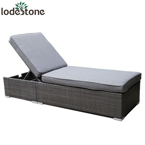 High Quality KD Design Outdoor Rattan Classic Lounger Chaise
