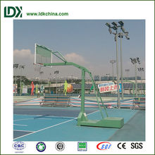 Fitness and recreational facility outdoor basketball stand for competition