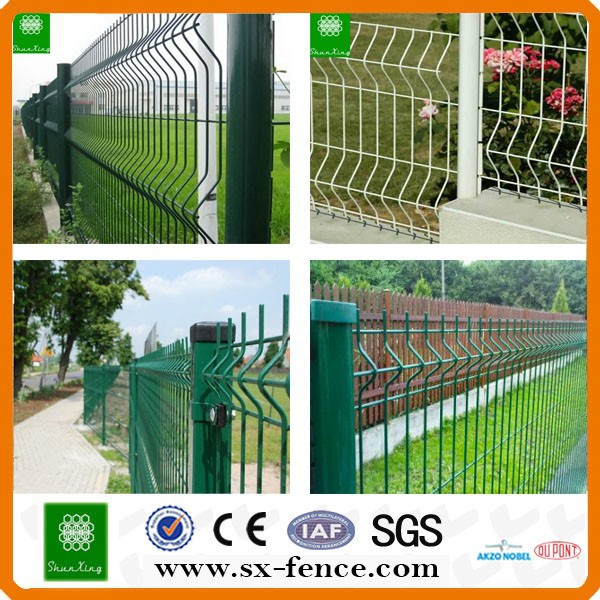 powder coated metal steel iron wire mesh trellis