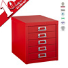 New hot sale Girls favorite 5 steel drawer jewelry cabinet