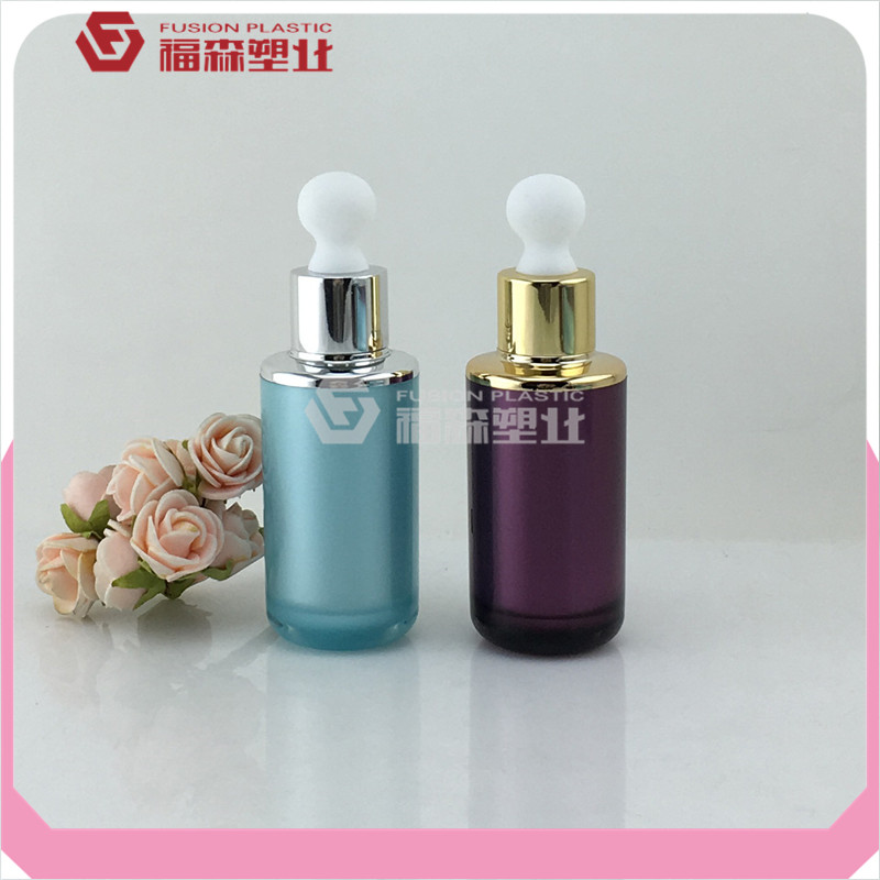 blue/purple color dropper bottle vial acrylic