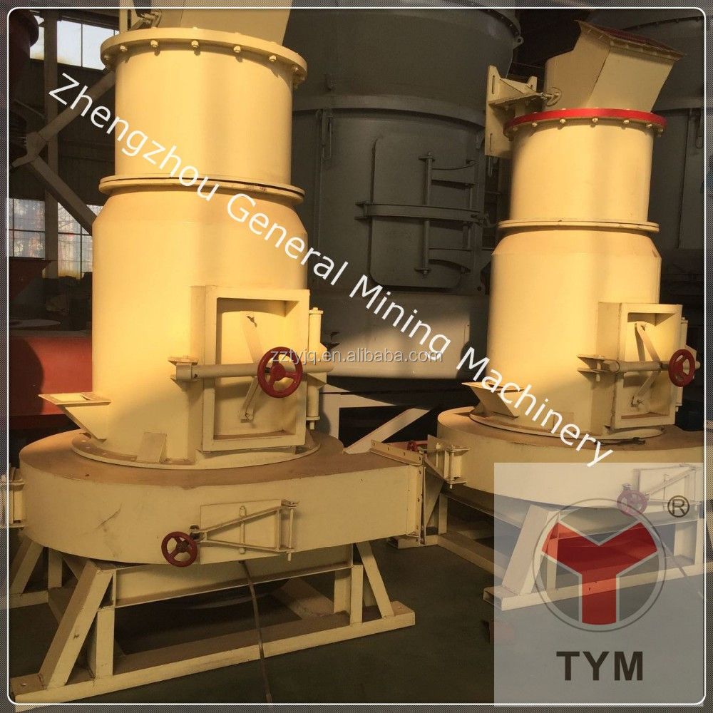 High pressure grinding mill for barite / Quartz/feldspar/clay/bentonite/calcite