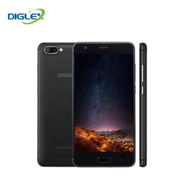 Original DOOGEE X20 3G Mobile Phones Android 7.0 2GB RAM 16GB ROM Quad Core Smartphone 720P Dual Back Camera 5.0 inch Cell Phone